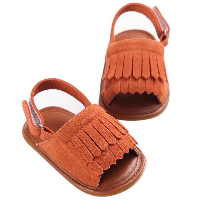 MACH Anak-anak Baru Desain Fashion penjualan Panas Ganda Rumbai Pu Kulit Sepatu  Musim Panas 0102cd14ea