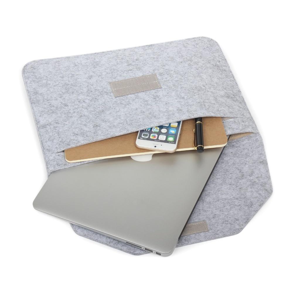Laptop Sleeve Pouch Bag Voor Apple Macbook (10st) Luxe Retro Grijze - Notebook accessoires - Foto 2