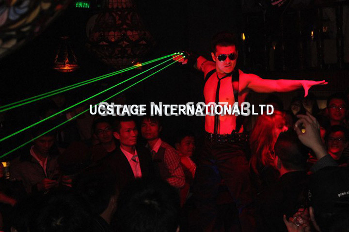 532nm red green laser glove stage laser show laser dance at stage show