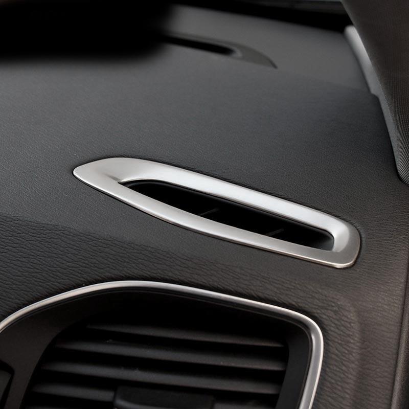 2pc za VOLVO xc60 s60l s60 V60 Armaturna ploča ukrasne utičnice Otvor klima uređaja