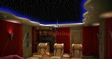 DIY optic fiber light kit led light engine with optical fiber twinkle starry sky ceiling light summer star night light