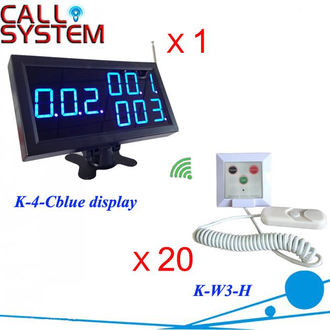 K-4-Cblue+W3-H 1+20 Hospital Nurse Panic Button System