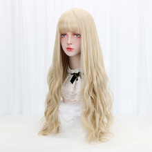 Bangs Long Wavy Synthetic Hair