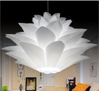 DIY Modern Pinecone Pendant Light Creative Lily Lotus Novel Led E27 35 45 55cm Iq Puzzle