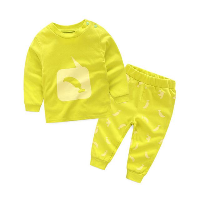 Terno do bebê 2017 nova primavera quente/outono/inverno 100% do bebê do algodão roupas meninos/meninas/crianças's traje frete grátis