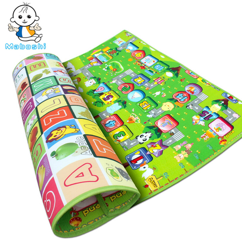 Authorized Authentic Maboshi Baby Play Mat Fruit/Zillionaire Game Kids Children Beach Mat Picnic Carpet Baby Crawling Mat CM-006