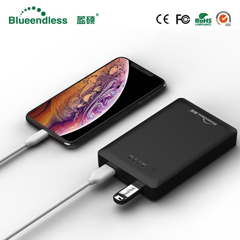 160G/250G/320G/500G/1TB/2TB External Hard Drive 1tb hdd 2.5 Sata to USB 2.0 HDD Enclosure with 4000mAh Powerbank Multifunction цены онлайн