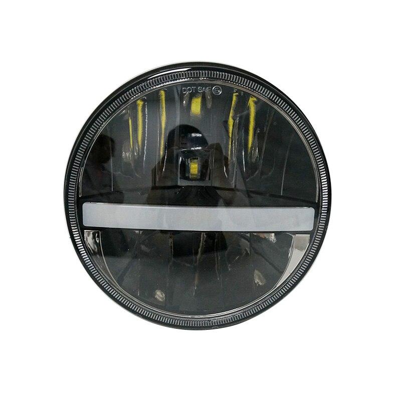 5 3/4 pouces led phare rond projecteur projecteur diurne 5.75 pouces 883 moto phare H4 moto DRL5 3/4 pouces led phare rond projecteur projecteur diurne 5.75 pouces 883 moto phare H4 moto DRL