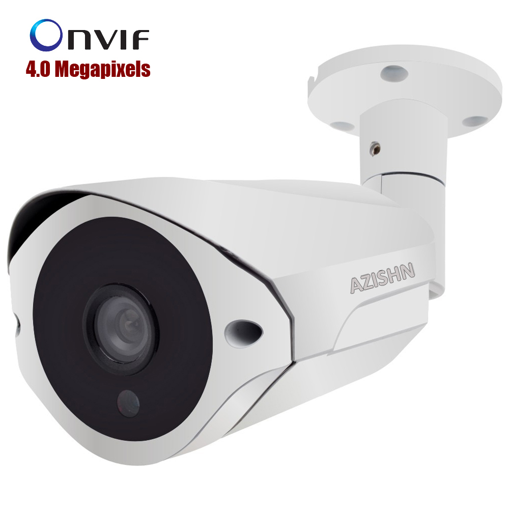NEW 4MP IP Camera ONVIF H.265/H.264 Surveillance CCTV Camera Hi3516D+1/3OV4689 25fps 36pcs IR LEDS Outdoor IP66 metal white босоножки dali dali da002awsak16
