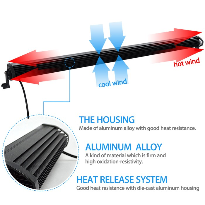 300w 52 inch offroad led light bar drl mounting bracket wiring rh aliexpress com