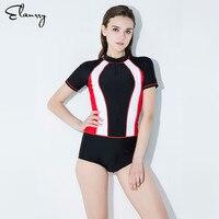 2018 Maillot Athletic Training Trikini Sport Swimsuit One Piece Bathing Suit Women Monokini Racing Plus Size