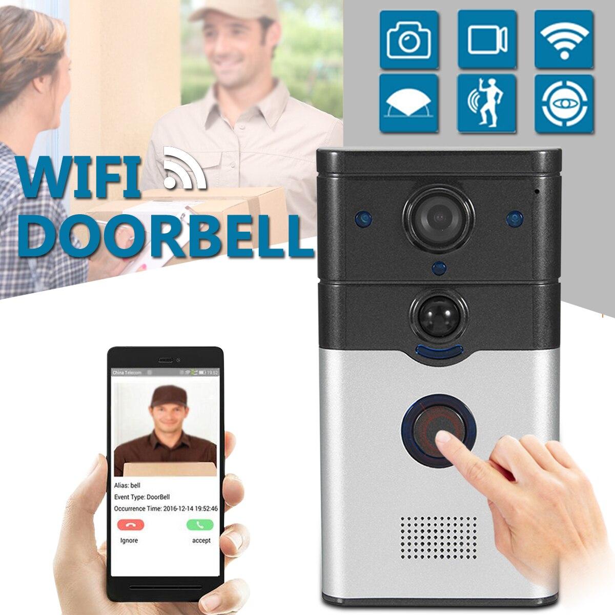 Android Door Hardware & Locks Devoted Smart Door Intercom 720p Hd Video Doorbell Wifi Doorbell With Camera Night Version Ir Motion Detection Alarm For Ios Door Viewers