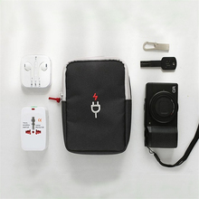 HAOCHU Earphon Cable Digital Gadget Devices USB Flash Drives Camera Travel Case Digital Electronic Accessories Storage