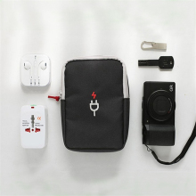 HAOCHU Earphon Cable Digital Gadget Devices USB Flash Drives Camera Travel Case Digital Electronic Accessories Storage Bag Pouch