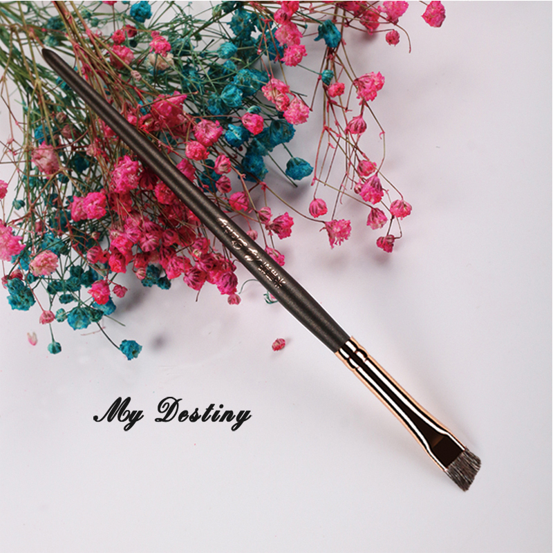 MY DESTINY Professional Angled Animal Hair Brush Pędzel do brwi - Makijaż - Zdjęcie 2