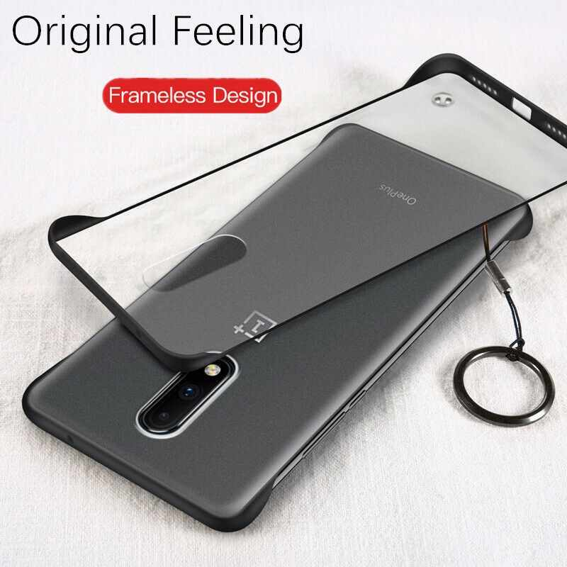 Frameless Case For Oneplus 7 Pro Case Ultra-thin Matte PC Shockproof Back Cover For One plus 7 Oneplus 7Pro 7 Pro Case