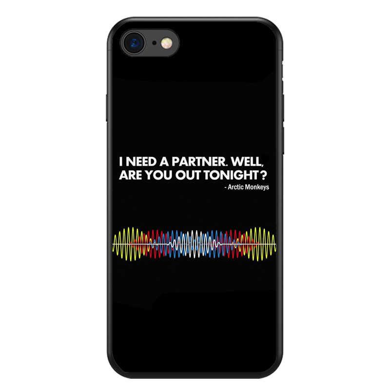ARCTIC MONKEYS рок-н-ролла я хочу знать ТПУ мягкий чехол для телефона чехол для iPhoneX 5S SE 6 6 6splus 7 Plus XS Max случае