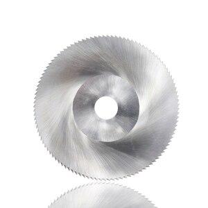 Image 2 - XCAN 1 قطعة قطر 100 مللي متر الأسنان 108 Z عالية السرعة الصلب المنشار شفرة منشار النجارة شفرة المعادن قطع الحز شفرة المنشار