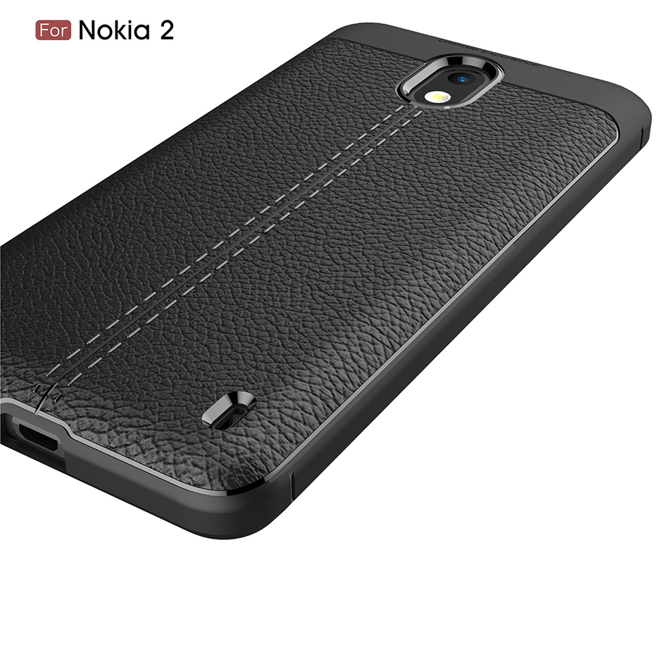 For Nokia 7 Plus Lichi Pattern Silicone Phone Case For Nokia 1 2 3 5 7 8 9 2017 2018 Coque For iPhone X 10 7 8 6 6s 5 5s SE B200