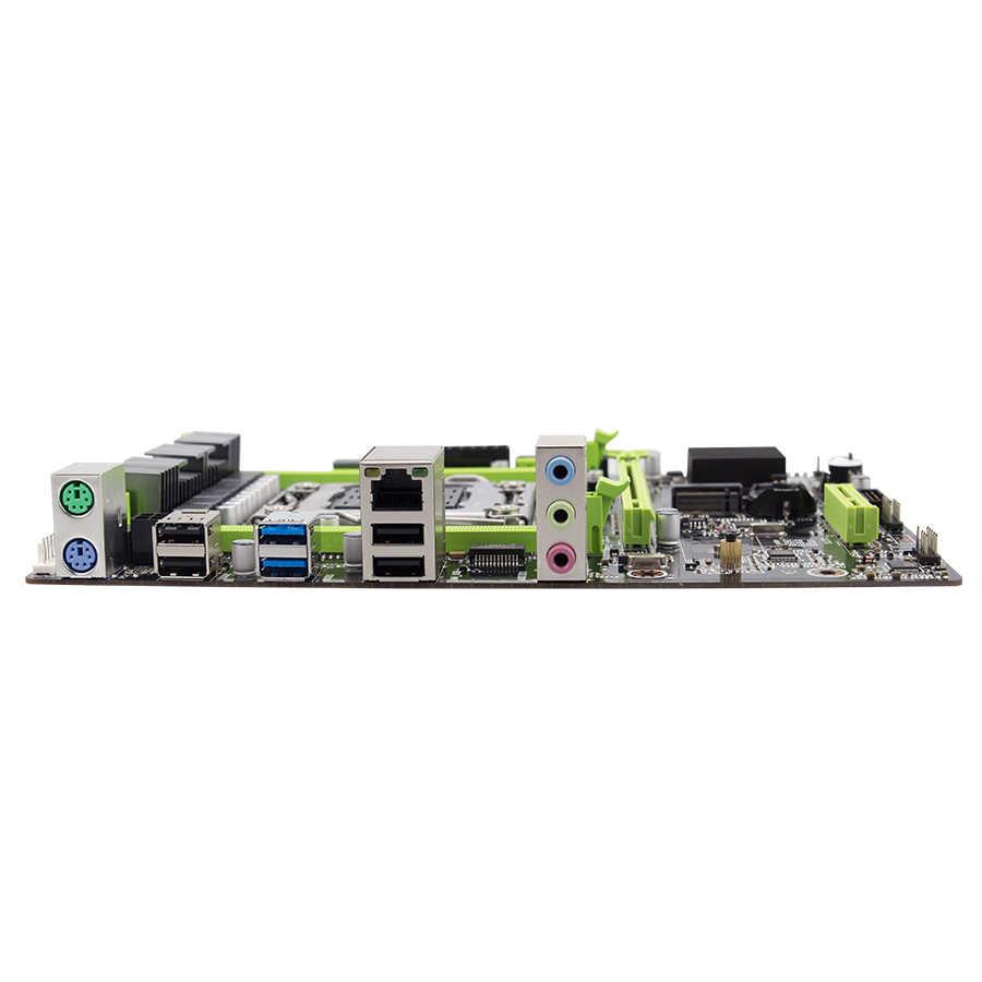 Kllisre X79 Papan Utama Set dengan Xeon E5 2640 LGA 2011 Dukungan DDR3 ECC REG Memori ATX USB3.0 SATA3 Pci-e NVME m.2 SSD