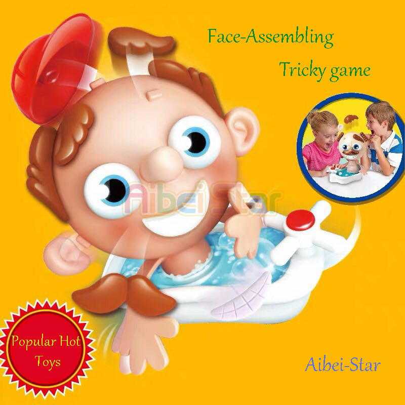 Aibei Star:  Tricky Toy Face-assembling For Kids/children.