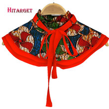 Hitarget 2017 African Necklaces for Women Shawl Chokers Print Ankara Tribal Handmade False Collar WYB238