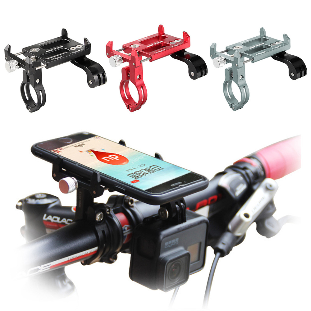 GUB G-88 Universal Bike Handlebar Holder Mount Metal Phone Holder Stand for 4-6 Inch Phone / GPS / Action Camera