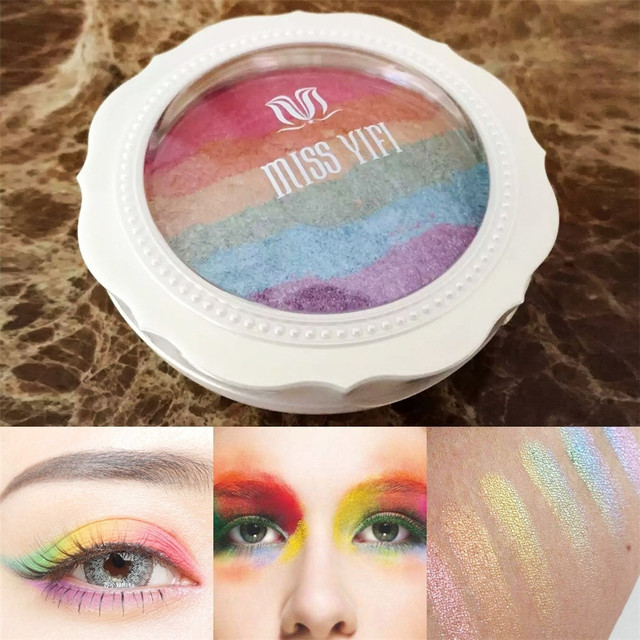 Fashion Eye Shadow Palette Cosmetics Eye Make Up Tool Makeup Eye Shadow Palette Eyeshadow Set for womenwith Mirror Eye Shadow