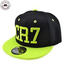 4dd4a220d5848 New Cristiano Ronaldo CR7 Black Baseball Caps for child Boys And Girls kids  hip hop Snapback hat