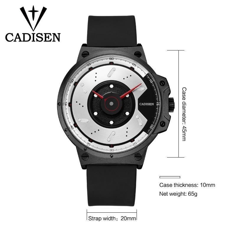 Nuevo CADISEN Deporte Reloj de Cuarzo Impermeable Relojes Para Hombre - Relojes para hombres - foto 2
