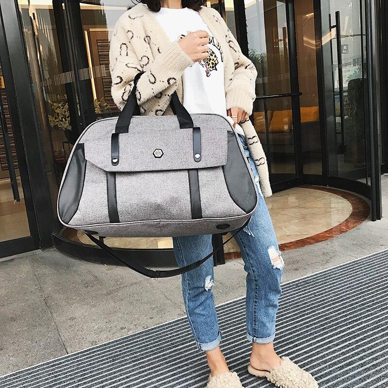 Men Travel Bag Large Capacity Multifunctional Hand Bag Waterproof Luggage Duffle Bag Business Women Travel Overnight