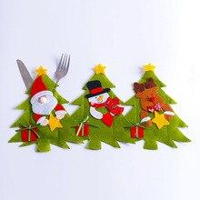 Santa Hat Reindeer Christmas Party Table Dinner Decoration NA01