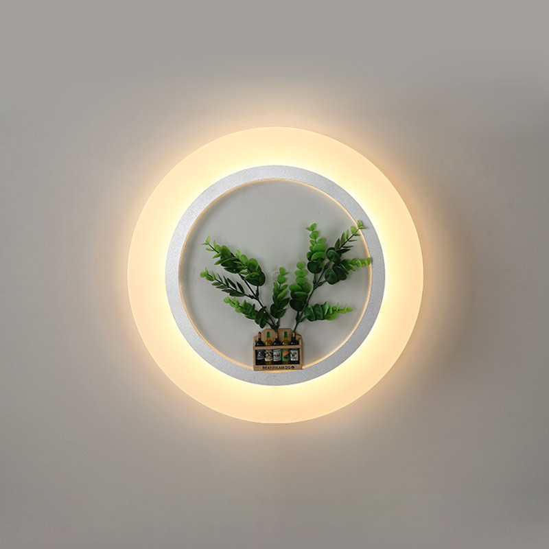 Modern Mirror Led Lamp for Bathroom Bedroom Bedside Light Decor Home Fixtures Stairs Loft Wall Sconce Indoor Lighting White Iron все цены