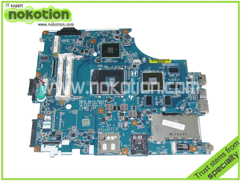 A1796418C MBX-235 Laptop motherboard for sony VAIO VPC-F M932 Main Board 1P-0107J00-8011 8 Layer Rev 1.1 Nvidia GeForce GT425M