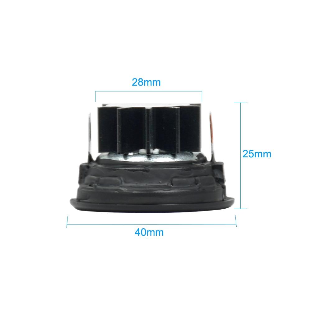 AIYIMA 2 шт 10 Вт 1,5 дюймов твитеры громкоговорители высокие мини портативные колонки 4 Ом 6 Ом 8 Ом 40 мм