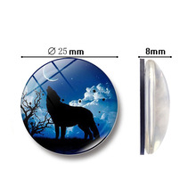 Refrigerator stickers home decoration accessories kitchen DIY resin decorative animal creative magnetic refrigerator