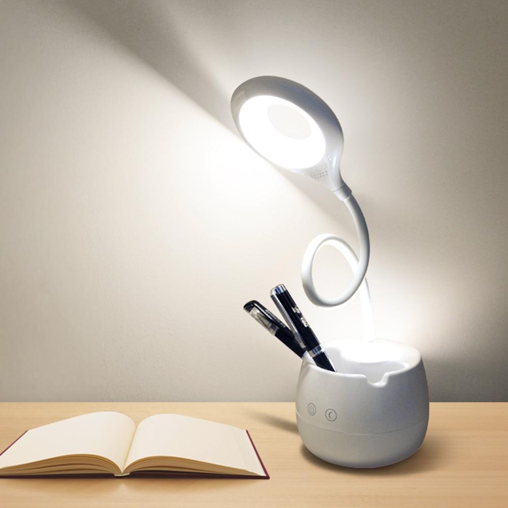 Diszipliniert Schreibtisch Lampe Touch Switch Control 3 Modi Dimmbare Led Usb Kabel Lade Mit Wiederaufladbare 18650 Batterie Tisch Licht Lesen Studie Einfach Zu Verwenden Licht & Beleuchtung