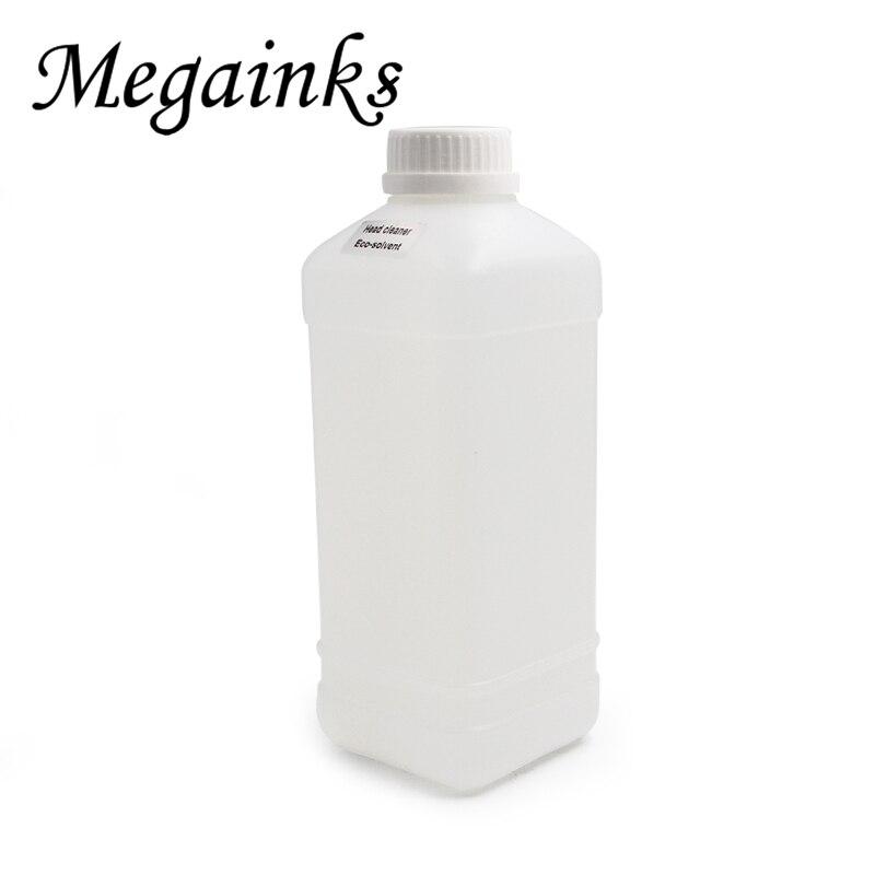 1000 ml 500 ml Eco Lösungsmittel Tinte Druckkopf Reinigung Flüssigkeit für Roland für Mimaki für Mutoh Pirnter Rohr Reiniger lösung Flüssigkeit