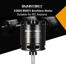 HOT Original SUNNYSKY X2820 14P 800KV RC Motor 3-5S Outrunner Brushless Motor Pa