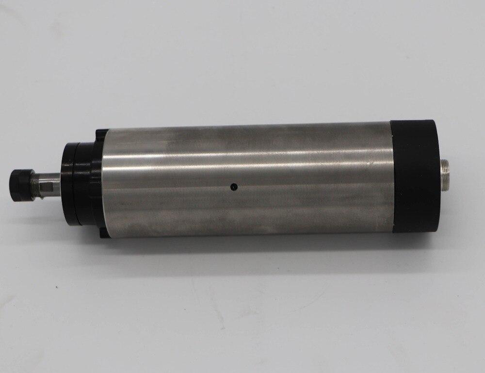 Aletler'ten Takım Tezgahı Mili'de 1.5KW hava soğutma mili motoru 65mm çapı ER11 24000 rpm 3D için oyma makinesi title=