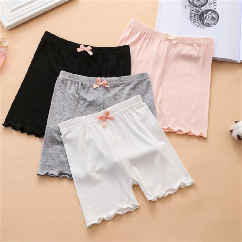 2019 Summer Girls Safety Pants Top Quality Toddler Kids Baby Girls Short Pants 2-11 Years Girl Stretchy Safety Shorts Underpants