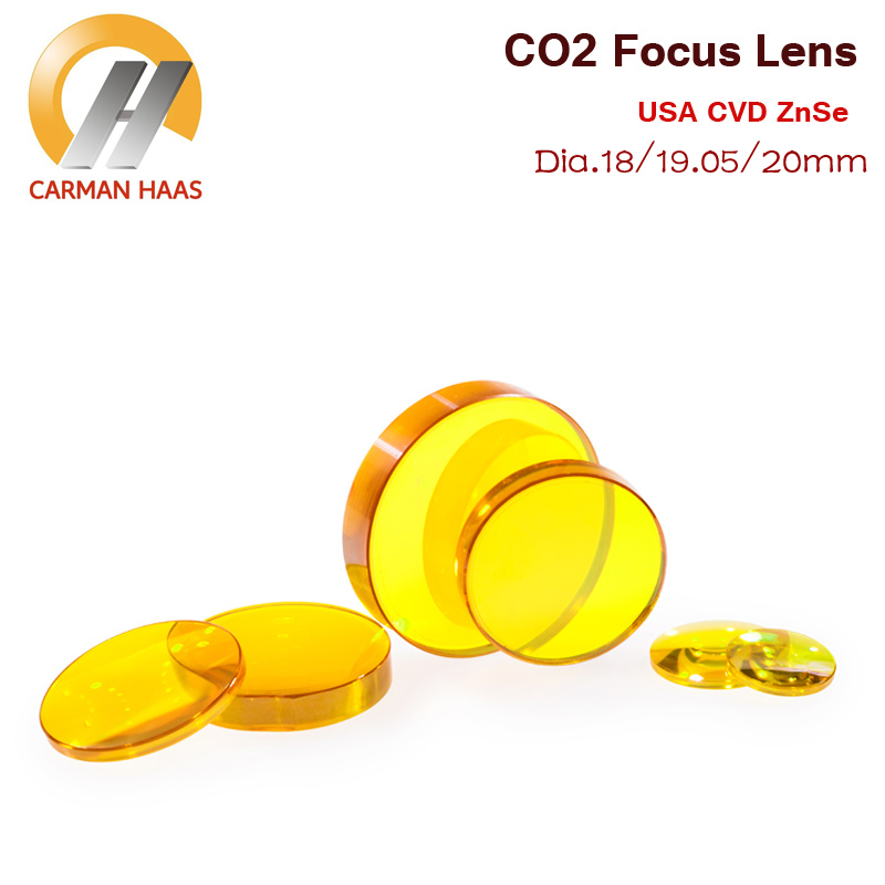2018 CO2 USA ZnSe Focus Lens for Laser Engraving Cutting Machine Dia. 18mm 19.05mm 20mm usa znse co2 laser lens 28mm dia 50 8mm 63 5mm 2inch 2 5inch focus length for co2 laser cutting machine