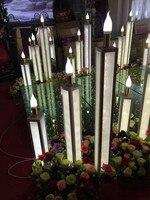 3 pcs Wedding road led decoration prop / wedding light