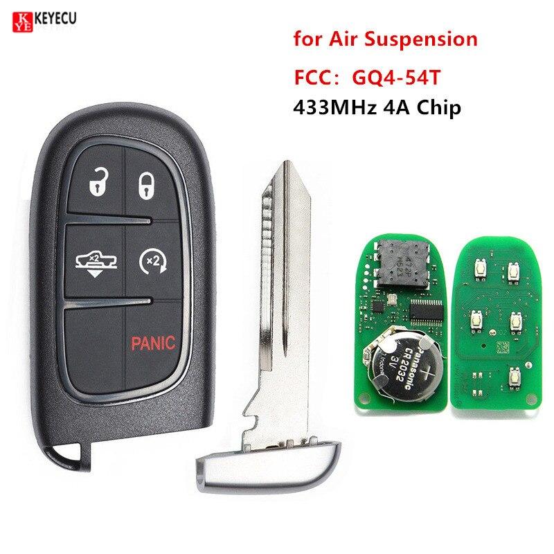 Keyless Entry Remote Start Smart Car Alarm Key Fob for 2013-2018 Ram 1500 3500 GQ4-54T 2500