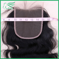 "7A Grade 5""*5"" Brazilian Virgin Hair Lace Closure, 5""x5"" Body Wave Bleached Knots Full Lace Human Hair Closure DHL Free Shipping"