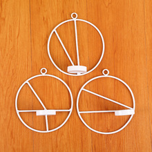 1PC Candlestick Metal New 3D Modern Style Wall Candle Holder Sconce Matching Small Tealight Home Ornaments MK 037
