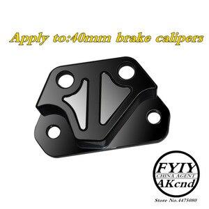 Image 3 - Motorcycle modification CNC aluminum alloy brake caliper For Yamaha aerox155 nvx155 84mm/40mmCaliper seat brake caliper bracket