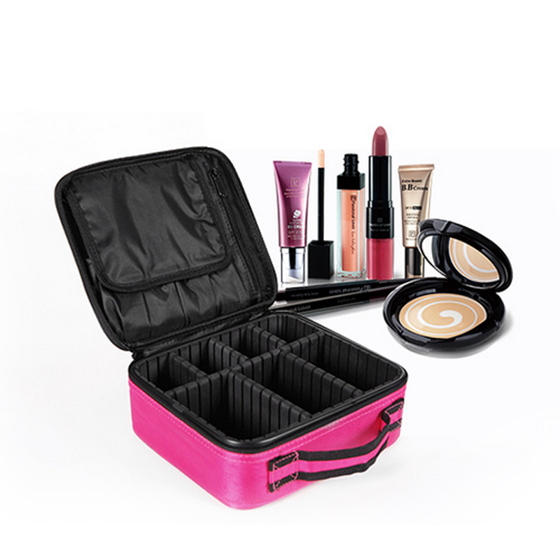 Wulekue Home Storage Bags Durable Tissue Waterproof Zipper Portable Carrying Case For Travel Cosmetics Make up Tools Organizer waterproof soft cloth storage bags for earphones 5pcs