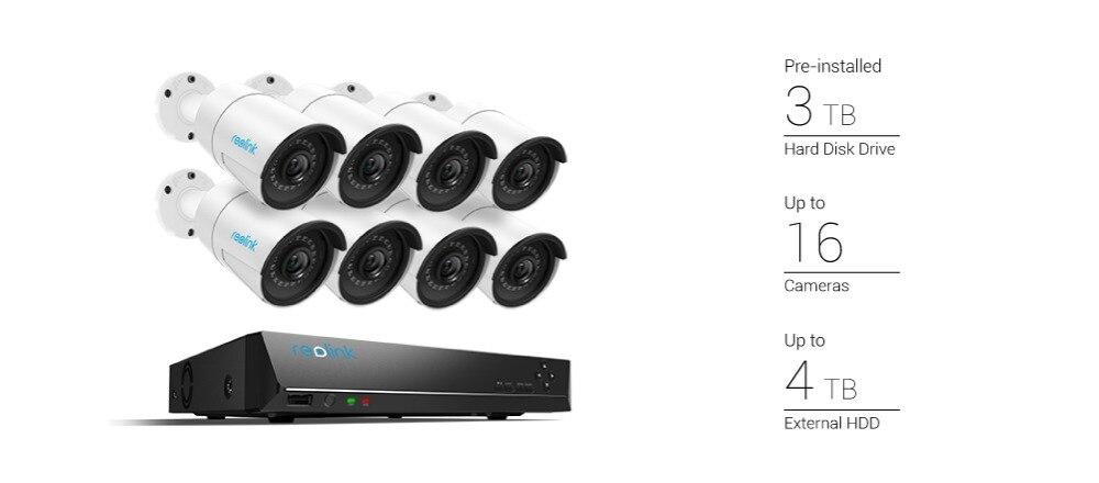 home camera system poe kit_RLK16-410B8-5MP