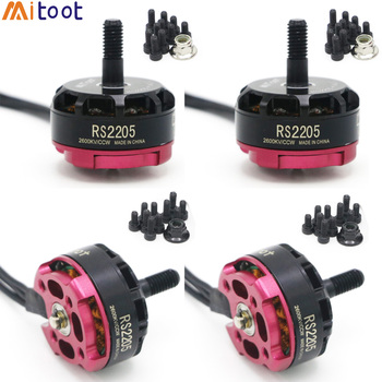 4PCS Mitoot  RS2205 2300KV 2600KV 2205 CW/CCW 3-4S Brushless Motor for RC FPV Racing Drone Quad Motor FPV Multicopter With Box jgb37 bldc3525 long life brushless geared motor high torque motor with brake 12v24v cw ccw